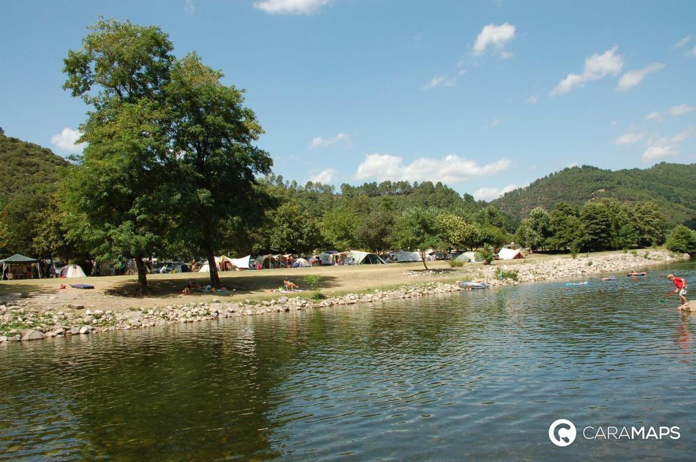 D couvrez aire naturelle le petit baigneur une tape caramaps - Office de tourisme saint jean du gard ...