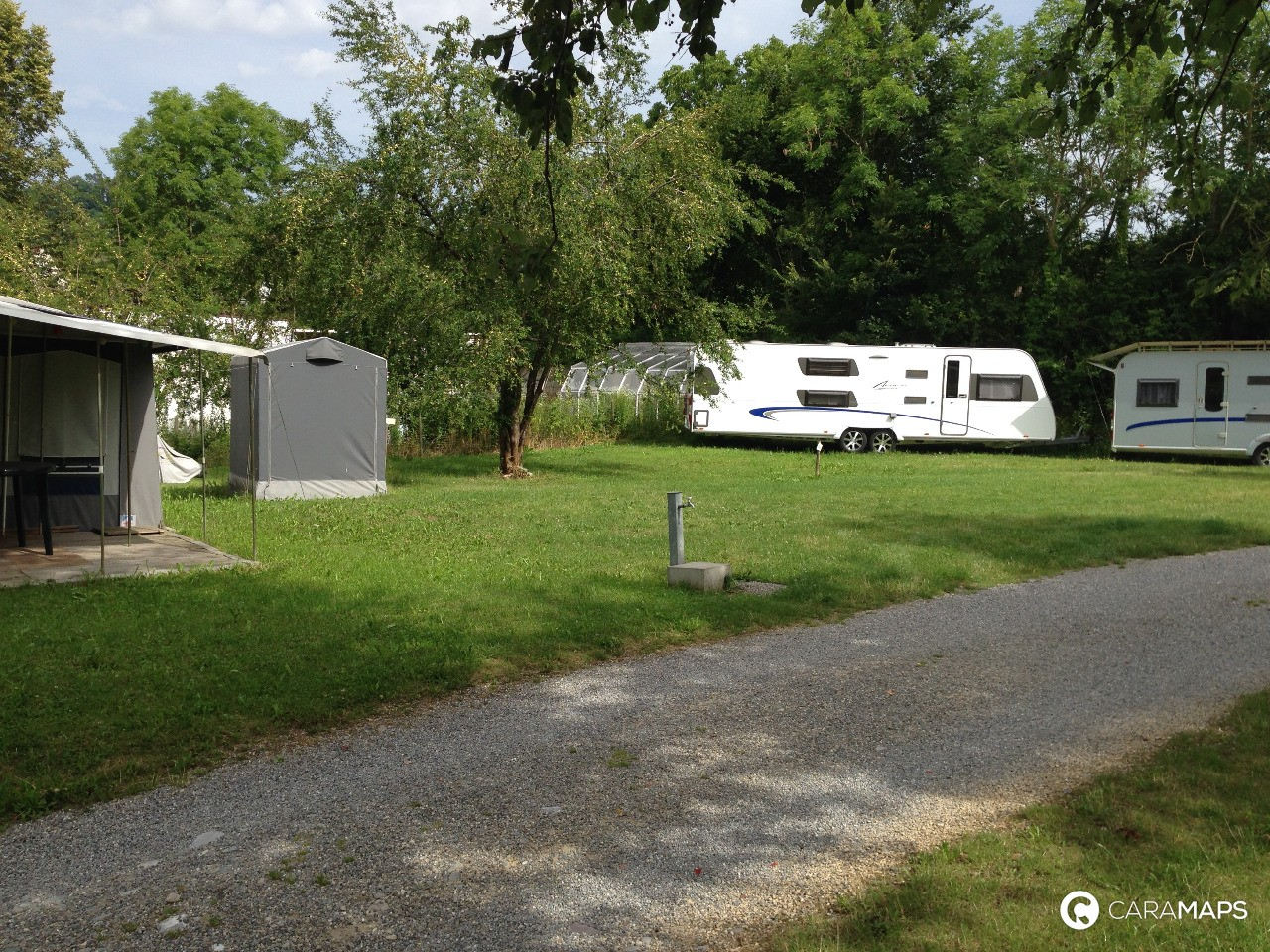 Discover Camping and Wohnmobil Park Papiermühle, a step by CaraMaps