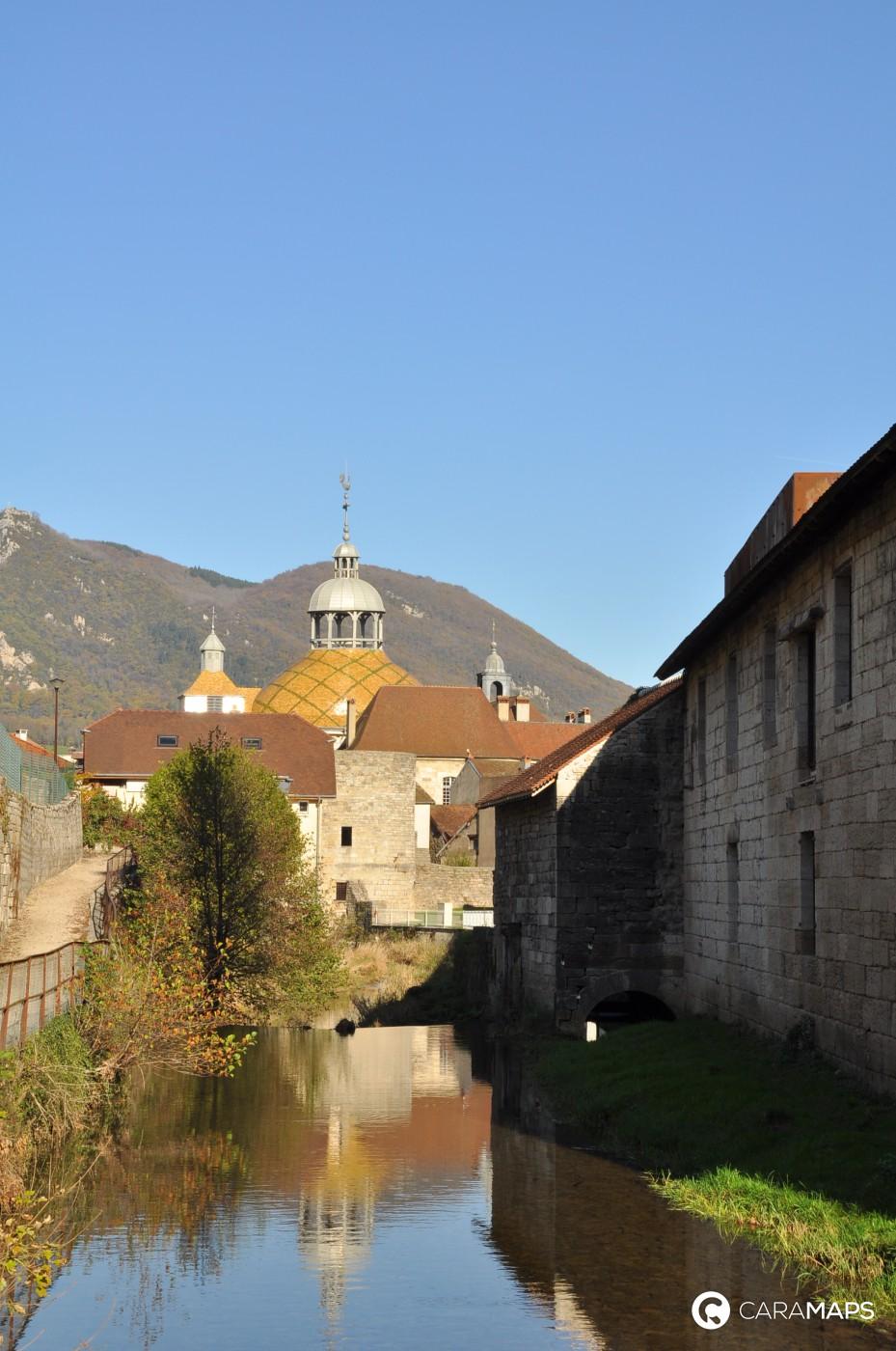 Discover Camping De Salins Les Bains A Step By Caramaps