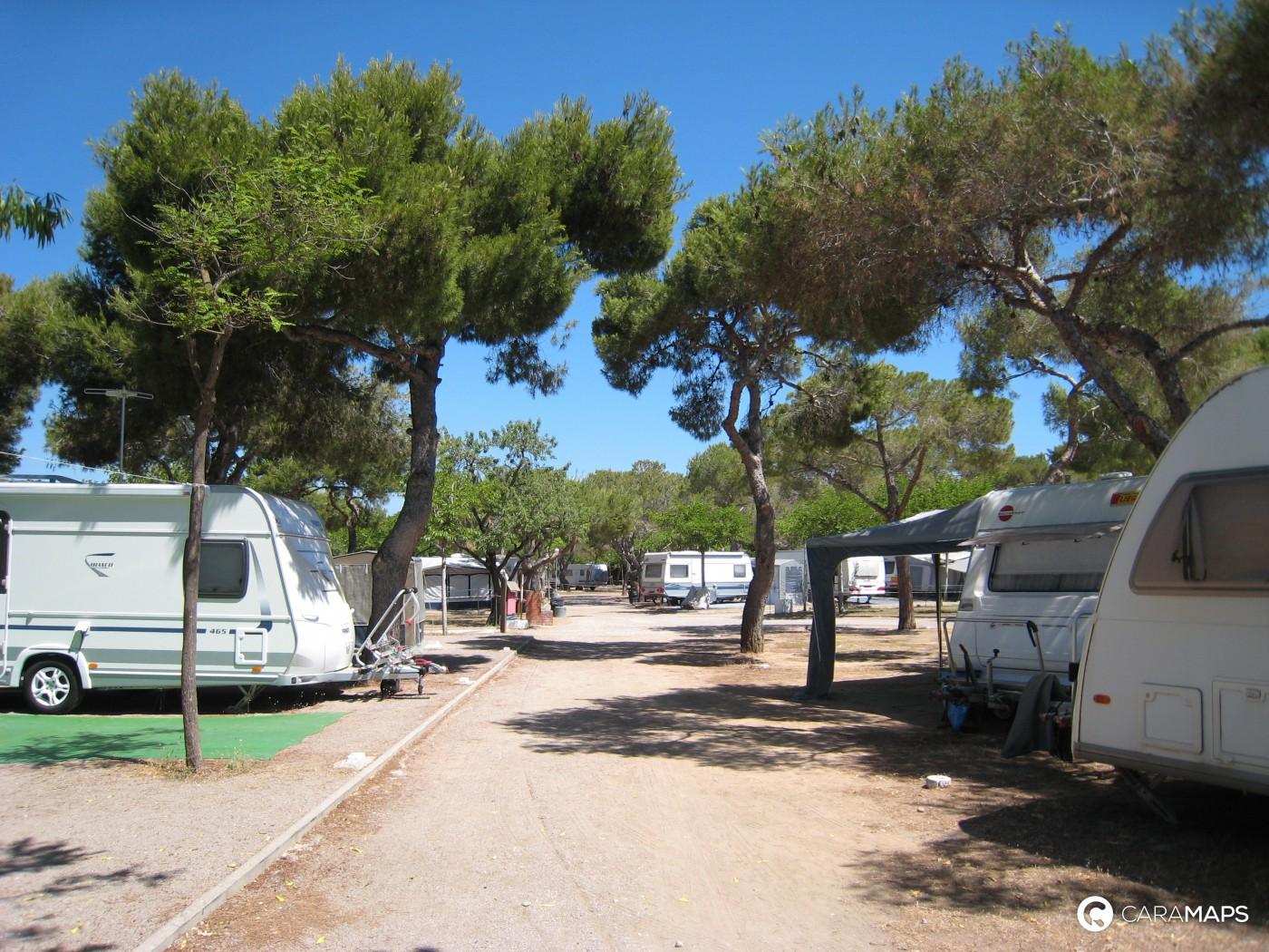 D couvrez camping de sitges une tape caramaps - Office de tourisme sitges ...