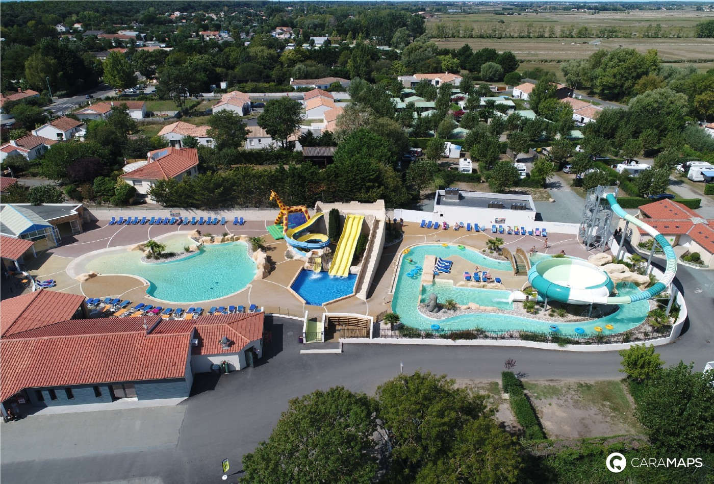 discover camping le bois joly a step by caramaps