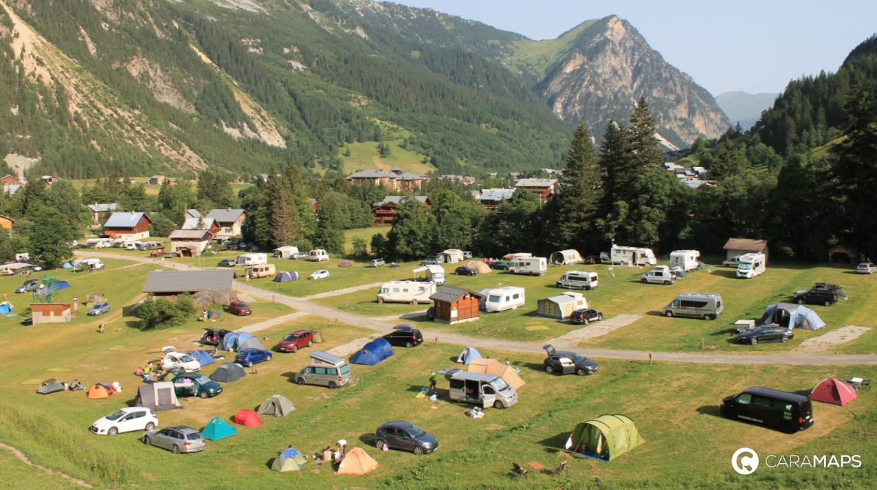 D couvrez camping municipal le chamois une tape caramaps - Office du tourisme pralognan la vanoise ...