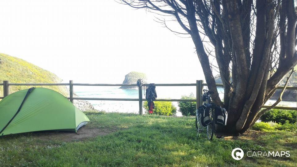 Discover Camping Playa De Troenzo A Step By Caramaps