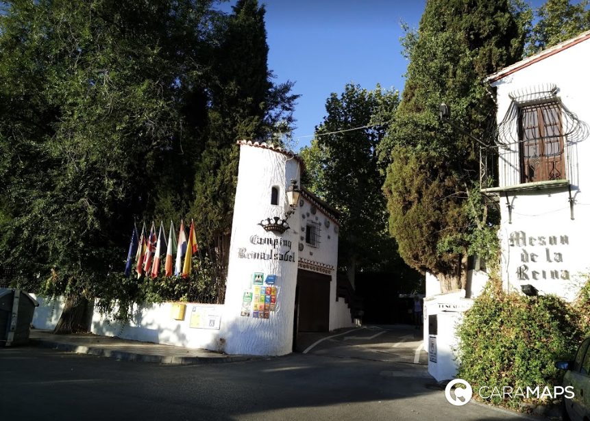 Discover Camping Reina Isabel A Step By Caramaps