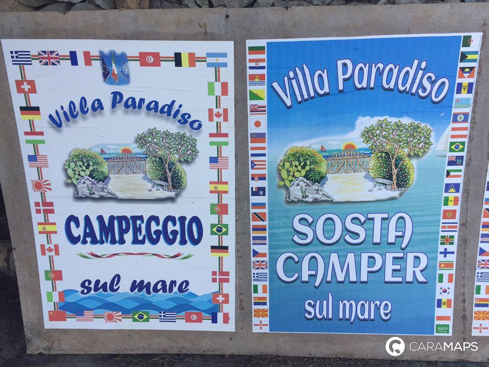 Discover Camping Villa Paradiso A Step By Caramaps